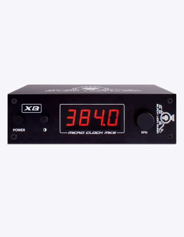 Black-Lion-Audio-Micro-Clock-Mark 3-XB-Front